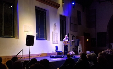 John performing at the National Centre for Early Music, York